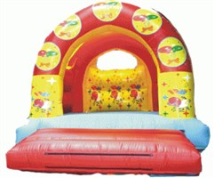 12ft x 15ft Balloons Arched Bouncy Castle