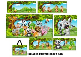 15 Piece Jungle Softplay