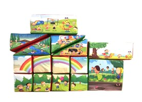 15 Piece Softplay Set with Printed Bag