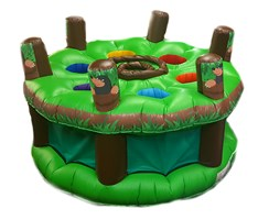 15ft Adult & Kids Whack A Mole Inflatable Bouncy Castle Game