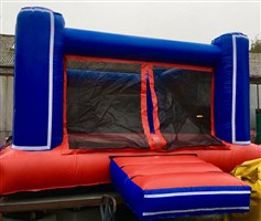 15ft x 15ft Adult Netted Bouncy Castle STOCK