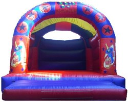 15ft x 15ft Adult or Kids Champagne Bouncy Castle