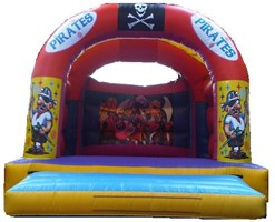 15ft x 15ft Adult or Kids Pirates Bouncy Castle