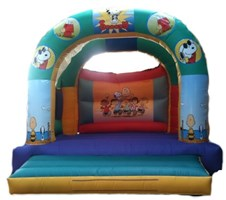 15ft x 15ft Adult or Kids Snoopy Bouncy Castle