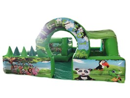 15ft x 15ft Jungle Toddler Play Park