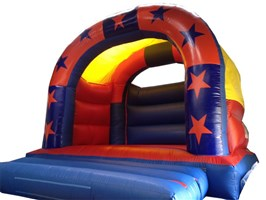 15ft x 15ft Stars Bouncy Castle
