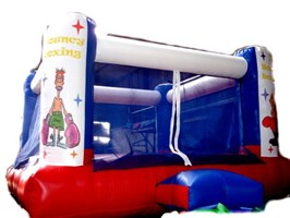 15ft x 17ft Adult or Kids Bouncy Boxing Ring