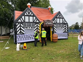 17ft x 26ft Inflatable Pub