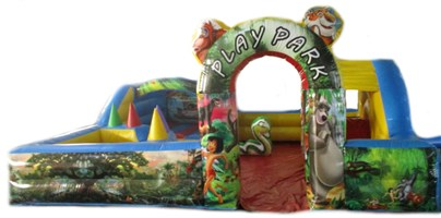 **CLEARANCE** 18ft x 18ft Jungle SKU896 Toddler Play Park