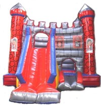 18ft x 25 ft x 16ft Giant Bouncer with Slide