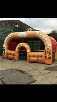 20ft x 20ft Rodeo Bull Arena / Cover