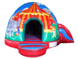 !! 22ft x 17ft Circus Dome Slide Combo