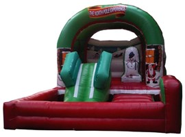 26ftx15ft North Pole Bouncy Castle / Ball Pit