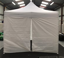 3m x 3m Easy Pop-Up Gazebo White