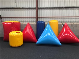 7PC Inflatable Bunker Set