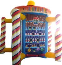 5 in 1 Inflatable Carousel Game Type B