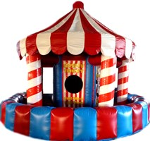 5 in 1 Inflatable Carousel Game Type A