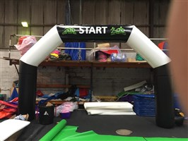 5m Giant Inflatable Race Arch ANY THEME OR COLOUR