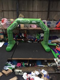 6m Inflatable Race Arch with Feet