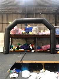 7m Giant Inflatable Race Arch ANY THEME OR COLOUR