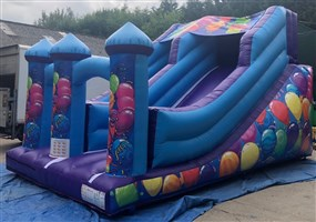 !! 8.5ft Platform Inflatable Party Slide