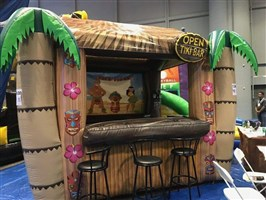 Inflatable Tiki Beach Bar