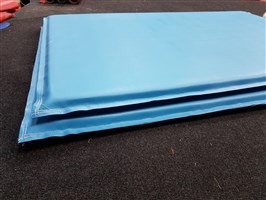 Light Blue Mats 5ft x 3ft