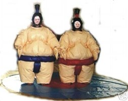 NEW OFFER! Adult Sumo Suits & Flat Circle Mat
